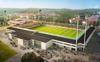 New design/construction: Very concrete Rambergsvallen