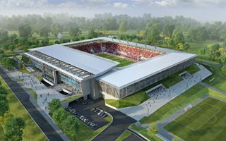 New design: Sóstói Stadion in Szekesfehervar