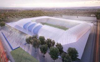 New design: Nándor Hidegkuti Stadion