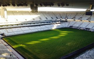 Bordeaux: Final touches on site as grass is beginning to grow