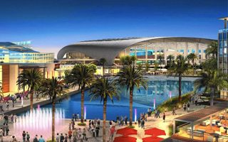 Los Angeles: Third bidder to build NFL stadium in LA