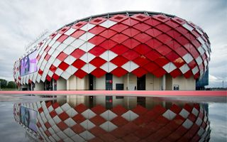 Moscow: Spartak's stadium mobile-friendly