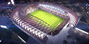 New design: Stadium for Indiana