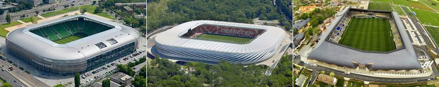 new stadiums Hungary