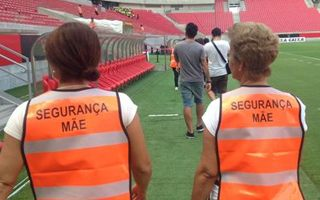 Brazil: Mothers guarded their sons during derby