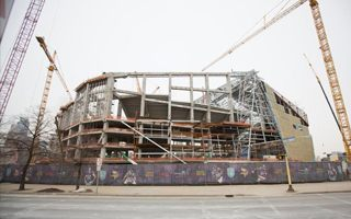 Minneapolis: Vikings Stadium reaches 40%