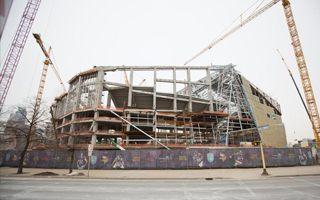 Minneapolis: Vikings Stadium reaches 40%