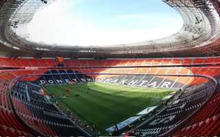 Donetsk: Donbass Arena in decent shape