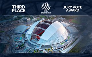 Stadium of the Year Jury Vote: 3. Singapore National Stadium