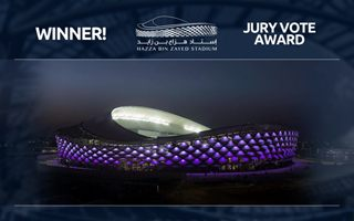 Stadium of the Year Jury Vote: Winner - Hazza Bin Zayed Stadium!