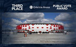 Stadium of the Year Public Vote: 3. Otkritie Arena