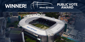 Stadium of The Year Public Vote: Winner – Allianz Parque!