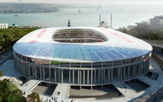 Azerbaijan: Another stadium of Beşiktaş… on the Caspian Sea?!