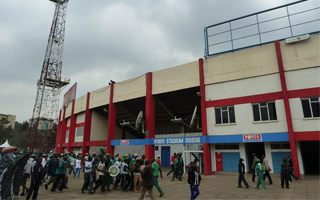Kenya: Nyayo Stadium turning blue