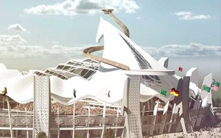 New design: Olympic Stadium resembling… a horse
