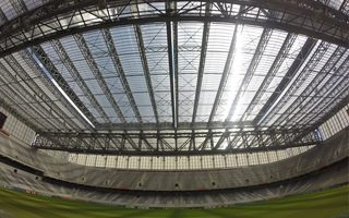 Curitiba: First ever Brazilian game under retractable roof