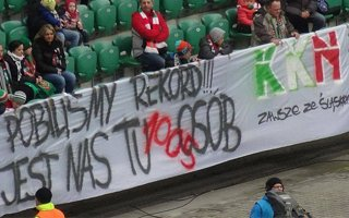 Poland: Record number of disabled fans in Wroclaw