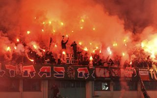 Vienna: Pyrotechnics allowed for Rapid games