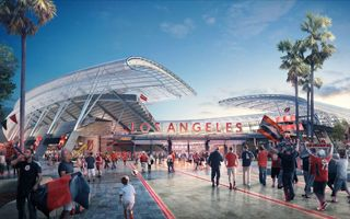 New design: Second soccer stadium for Los Angeles
