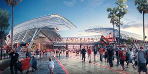 New design: Second soccer stadium for Los Angeles