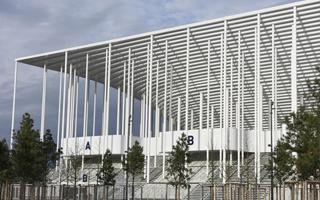 New stadium: The steel frustum from Bordeaux