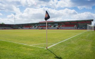 New stadium: Broadhurst Park after opening night