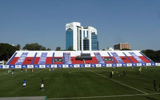 New stadiums: Bangalore and Mumbai