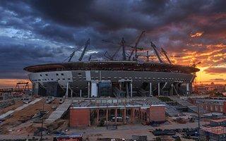 Saint Petersburg: Zenit Arena's permanent roof complete