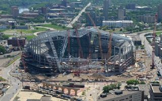Minneapolis: Major milestones reached as Vikings Stadium crosses 53%