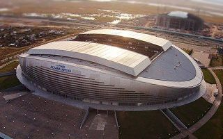 Kazakhstan: Scandal in Astana, Arena roof leaking