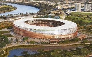 Perth: Burswood Stadium controversially expensive