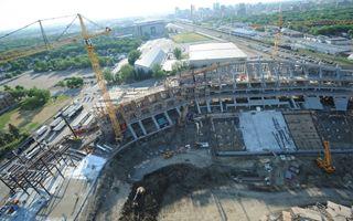 Regina: Mosaic Stadium 44% complete