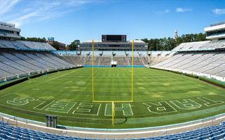 New stadiums: Hills and woods of North Carolina