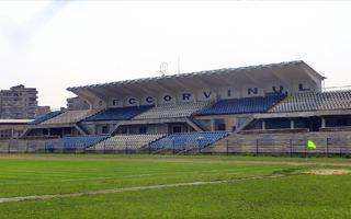 New stadiums: Hunedoara, Petrosani, Iasi, Botosani