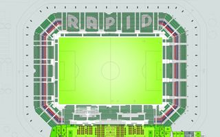 Vienna: Rapid presents final seating layout for Allianz Stadion