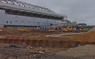 London: Works around White Hart Lane ongoing