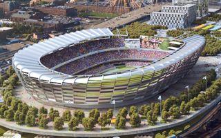New design: Boston's temporary giant