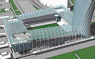 Moscow: CSKA stadium in half a year?