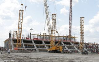 New construction: Rostov catching up