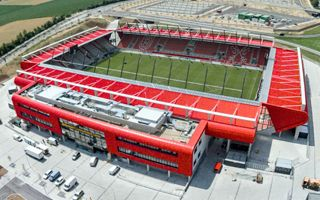New stadium: A long opening in Regensburg