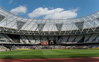 London: Olympic Stadium reopened after roof reconstruction