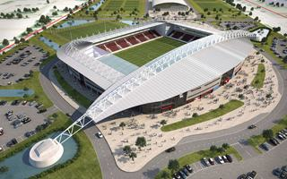 England: Scunthorpe ready to open unfinished stadium