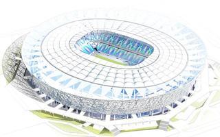 Russia: Volgograd stadium 1.5 month behind schedule