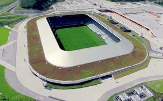 Slovenia: Shockingly empty national stadium in Ljubljana
