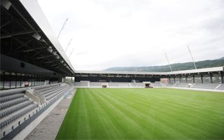 New stadium: Tissot Arena comes to play