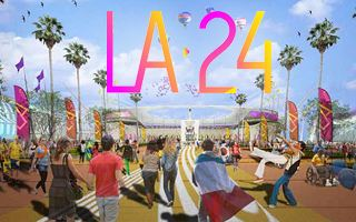 USA: Los Angeles takes over for 2024 Olympics