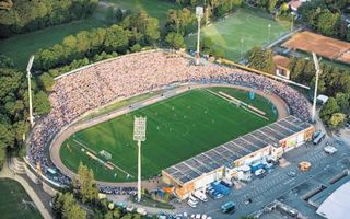 New stadiums: Darmstadt, Neunkirchen and Stuttgart