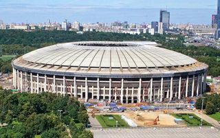 Moscow: 90% of the Luzhniki concrete structure ready