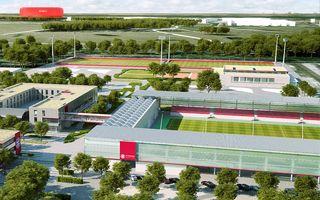 New design: Is this a mini Allianz Arena?