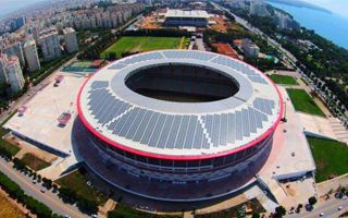 New stadium: Turkey's first solar arena